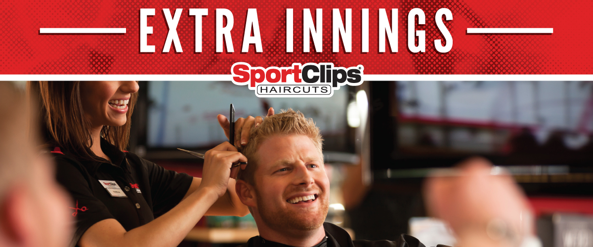 The Sport Clips Haircuts of Harrison Extra Innings Offerings