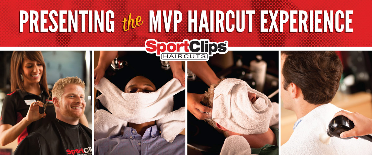 The Sport Clips Haircuts of Harrison MVP Haircut Experience